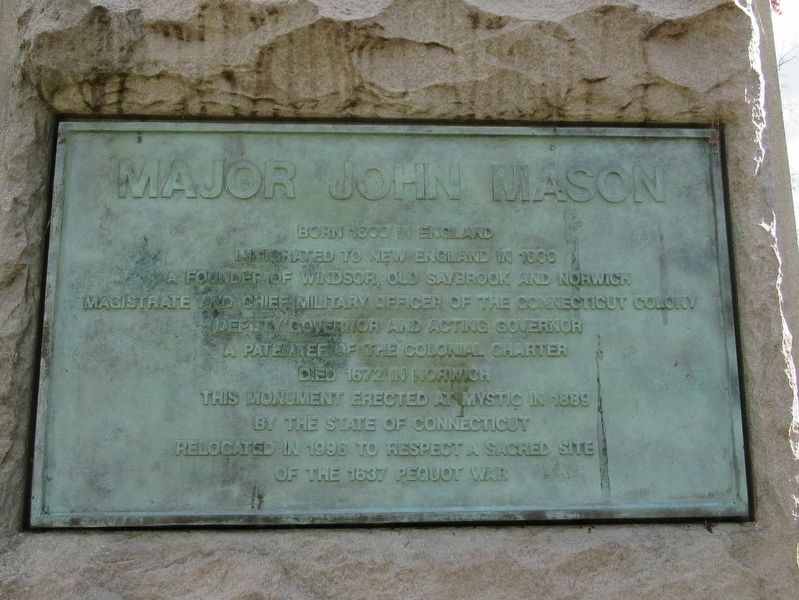 Major John Mason Marker image. Click for full size.
