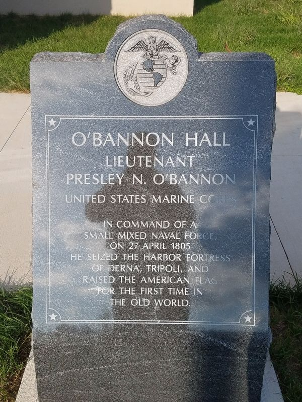 O'Bannon Hall Marker image. Click for full size.