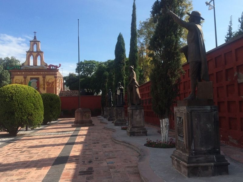 Cemetery of the Illustrious of Querétaro image. Click for full size.
