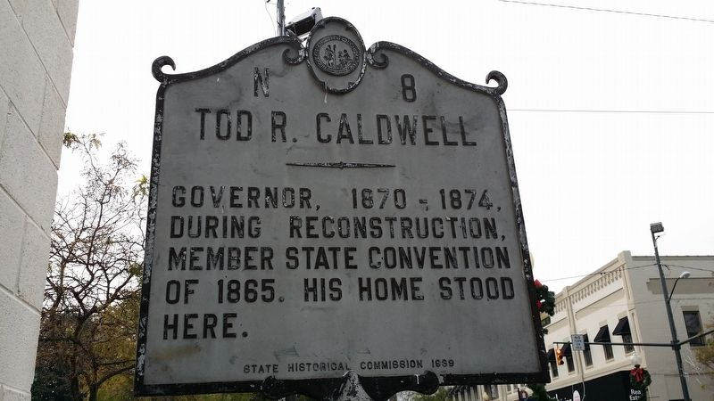 Tod R. Caldwell Marker image. Click for full size.