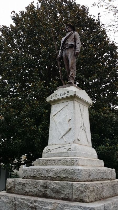 Our Confederate Soldiers Marker image. Click for full size.