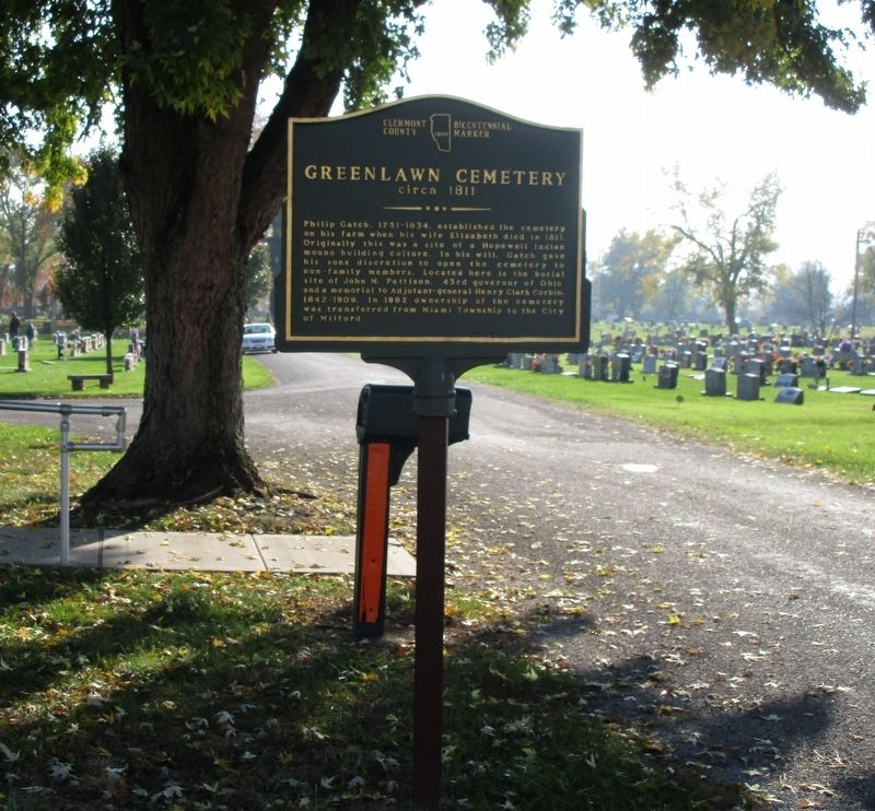 Greenlawn Cemetery Marker image. Click for full size.