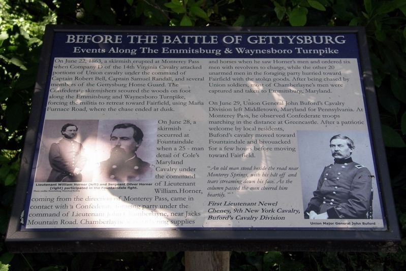 The Battle of Fountain Dale Marker image. Click for full size.