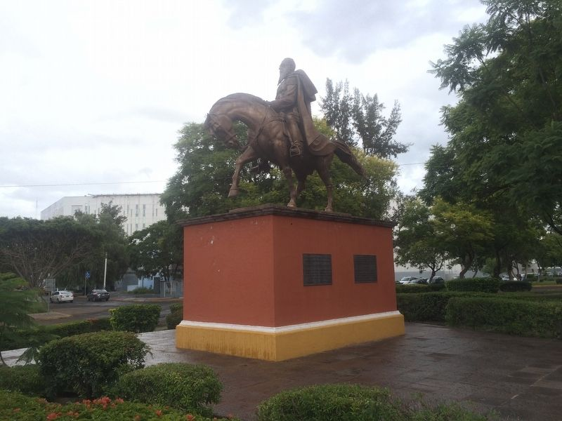 General Mariano Escobedo Marker and monument image. Click for full size.