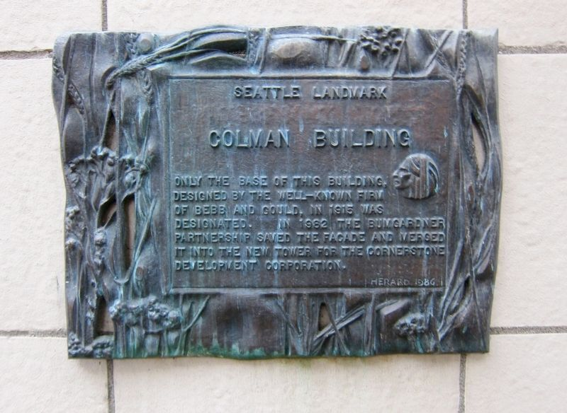 Colman Building Marker image. Click for full size.