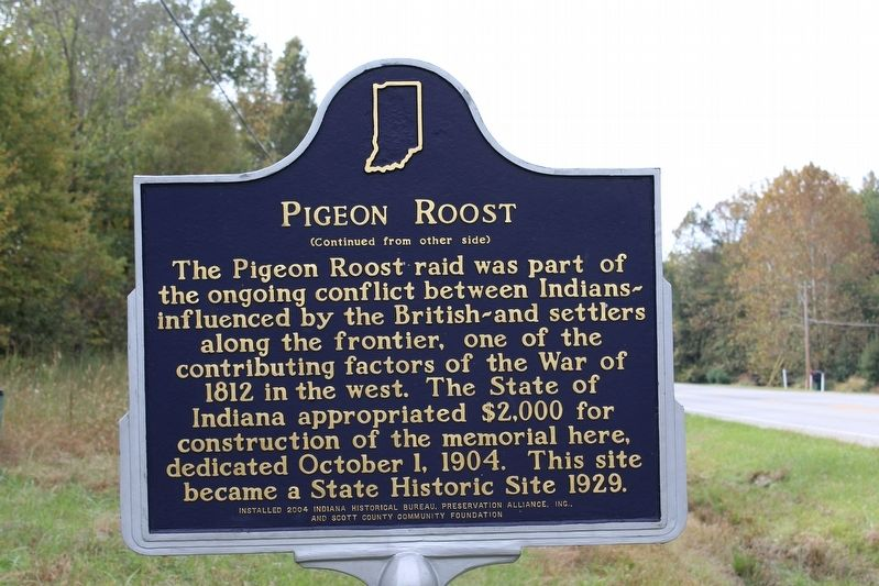 Pigeon Roost Marker (Side 2) image. Click for full size.