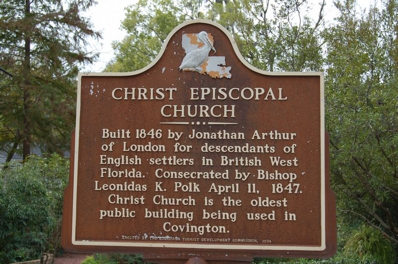Christ Episcopal Church Marker image. Click for full size.