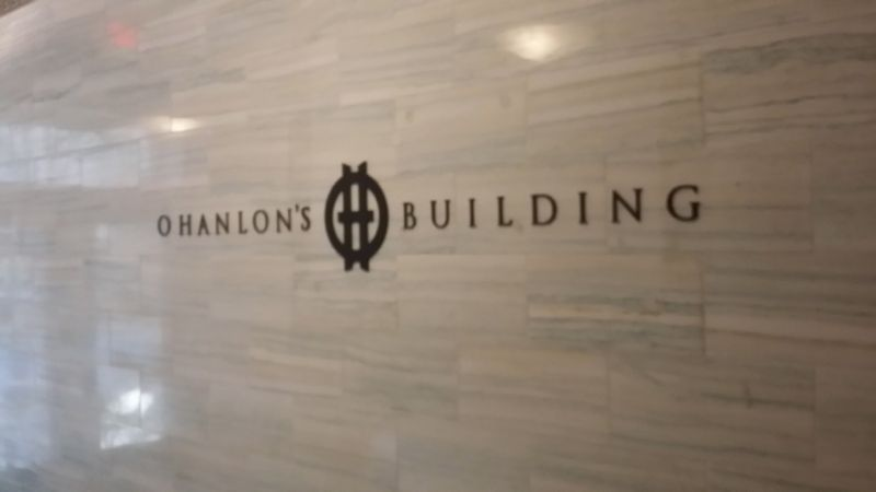 O'Hanlon's Office Building Marker image. Click for full size.