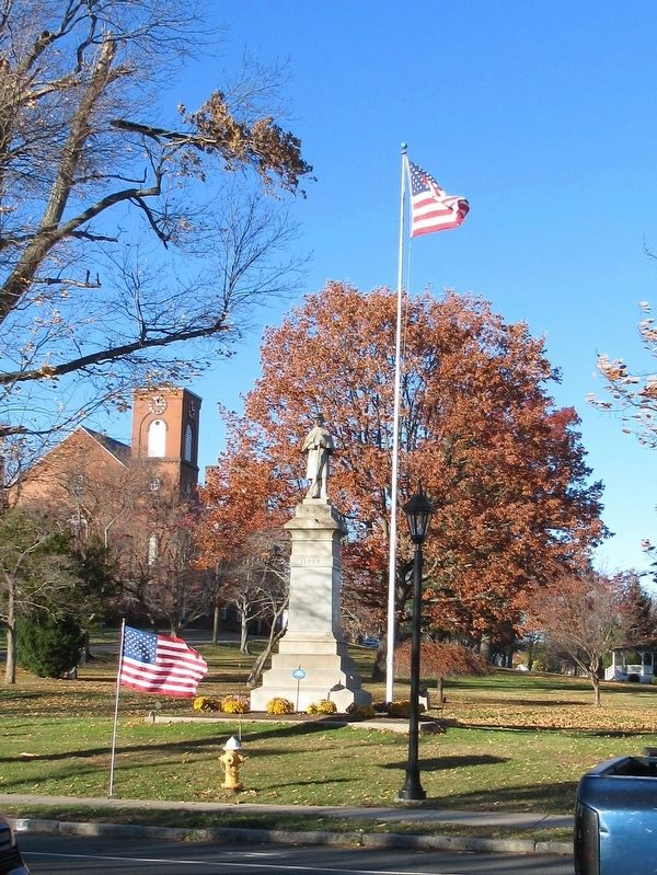 Suffield Soldiers Memorial image. Click for full size.