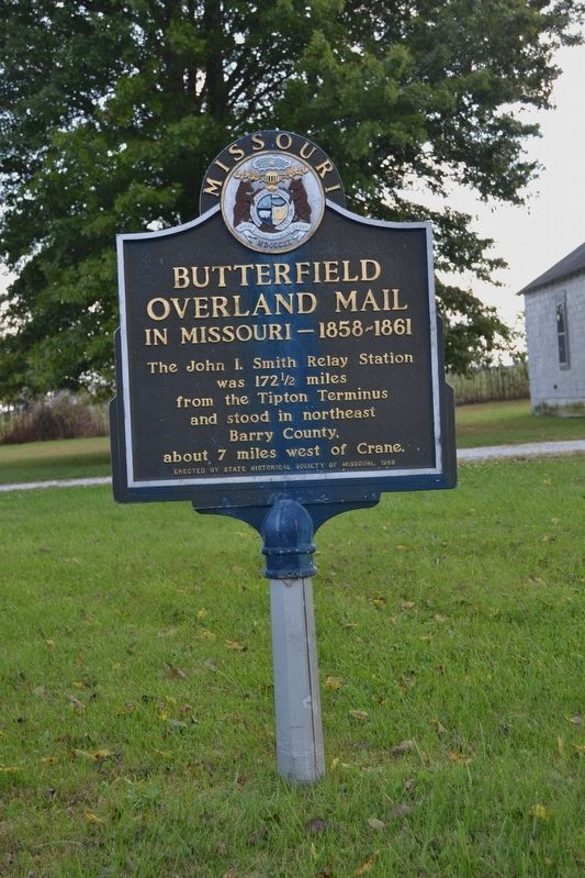 Butterfield Overland Mail in Missouri — 1858-1861 Marker image. Click for full size.