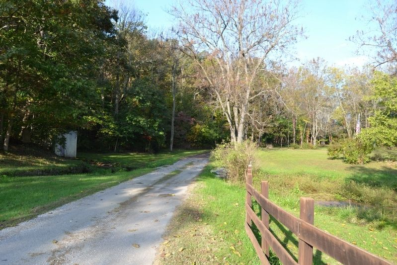 View to East Along Farm Road 2020 image. Click for full size.