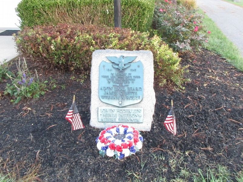 Mt. Moriah Veterans Memorial Marker image. Click for full size.