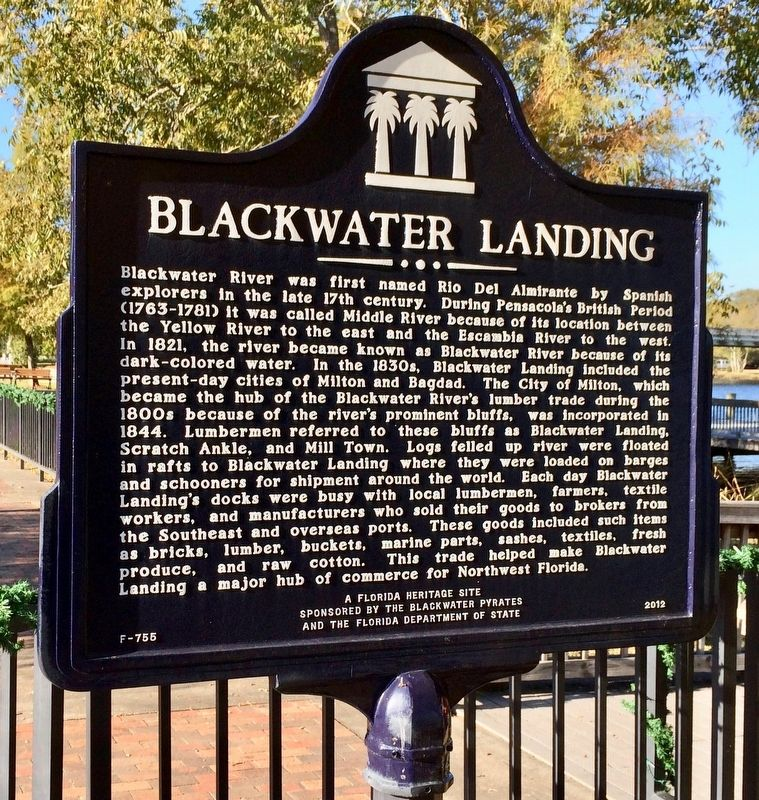 Blackwater Landing Marker image. Click for full size.