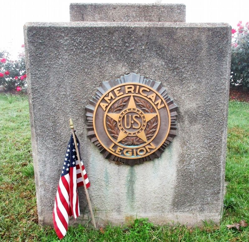 New Richmond WW I Memorial Marker image. Click for full size.