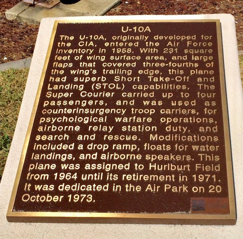 U-10A Super Courier Marker image. Click for full size.