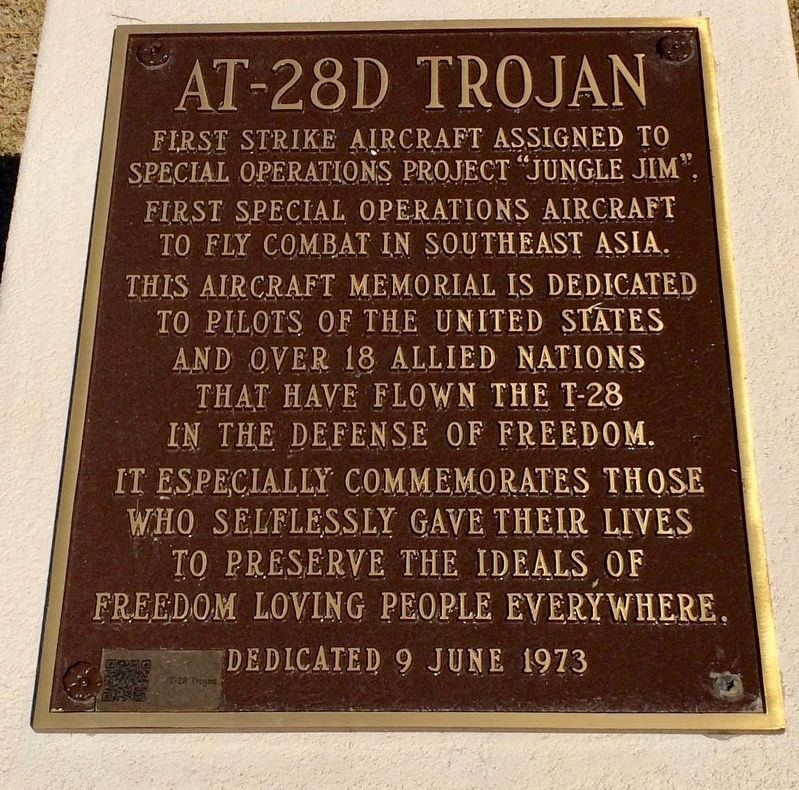 AT-28D Trojan Marker image. Click for full size.