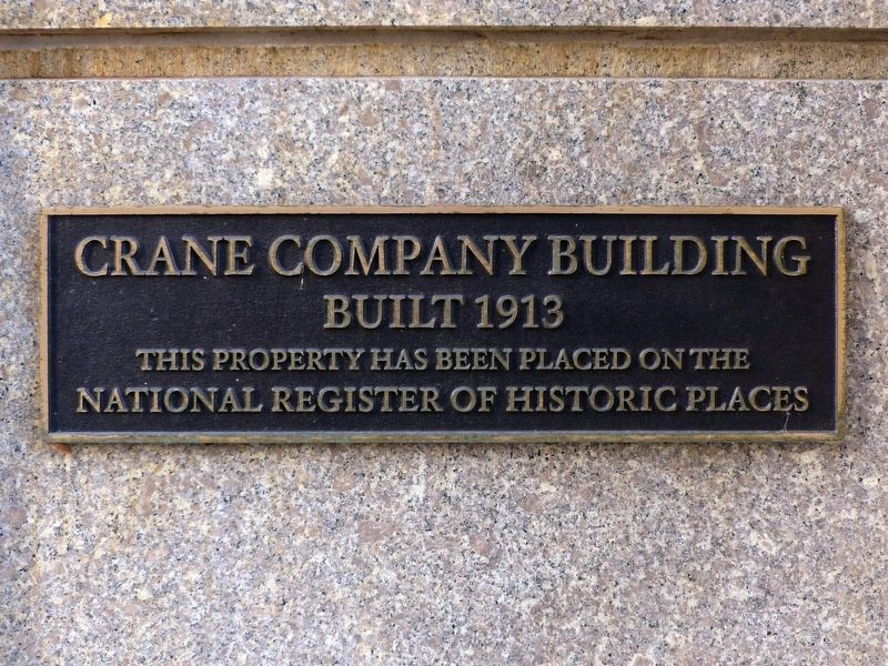 Crane Company Building Marker image. Click for full size.