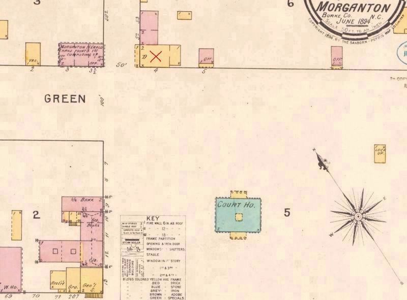 1894 Sanborn Map image. Click for full size.