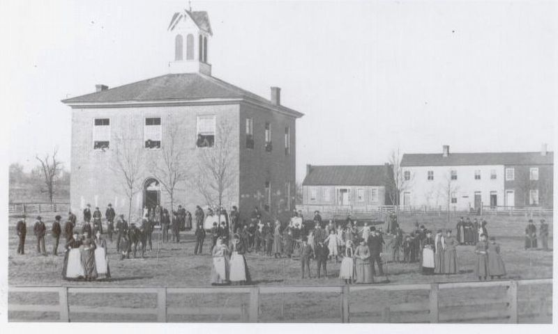 Scott County Courthouse at Lexington 1821-1874 image. Click for full size.