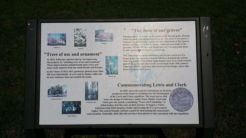 Commemorating Lewis and Clark Marker image. Click for full size.