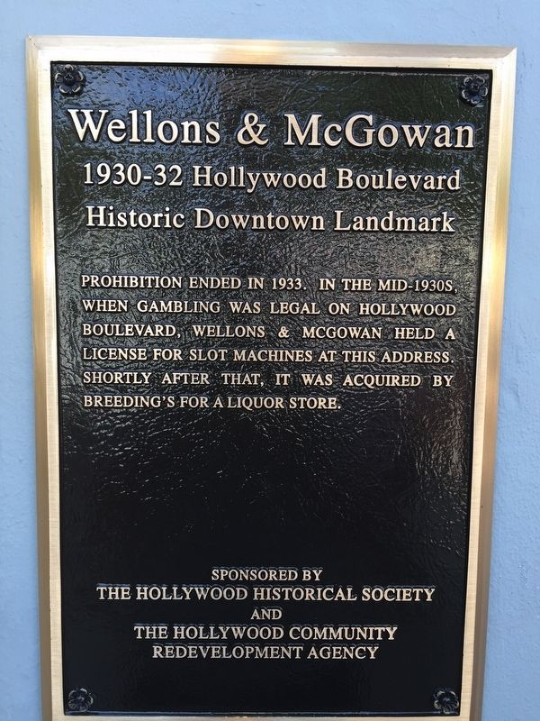 Wellons & McGowan Marker image. Click for full size.