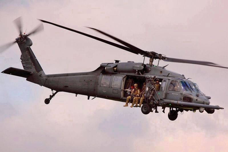 HH-60G Pave Hawk Helicopter image. Click for full size.