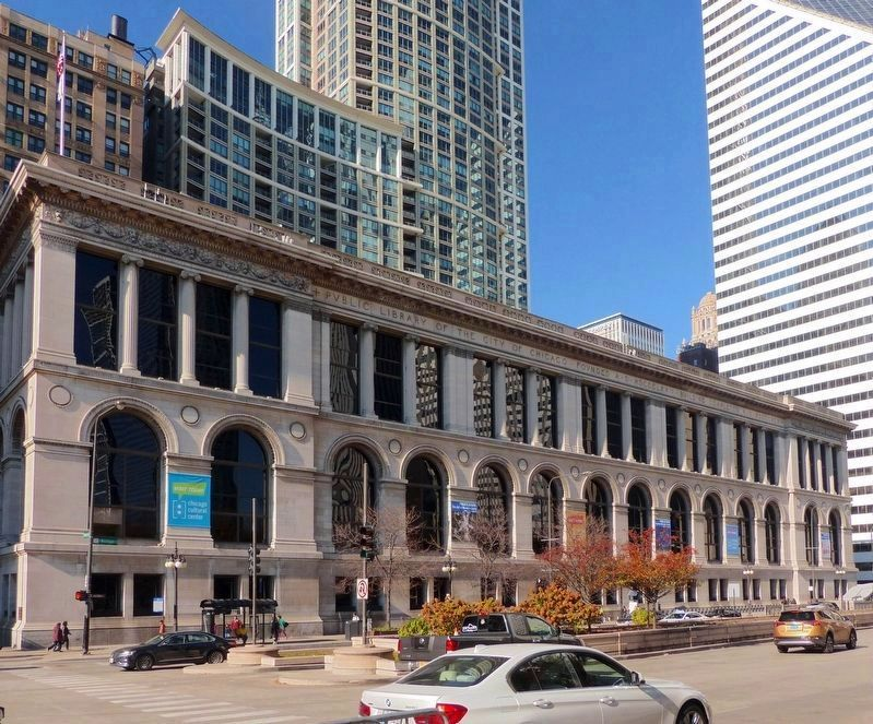 The Chicago Cultural Center<br>Formerly the Chicago Public Library<br>& GAR Hall image. Click for full size.