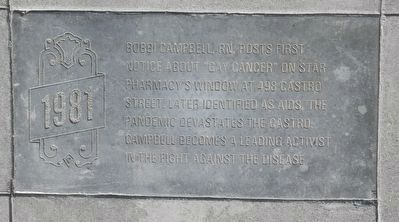 Example of the Castro Street Historical Timeline Tablets image. Click for full size.