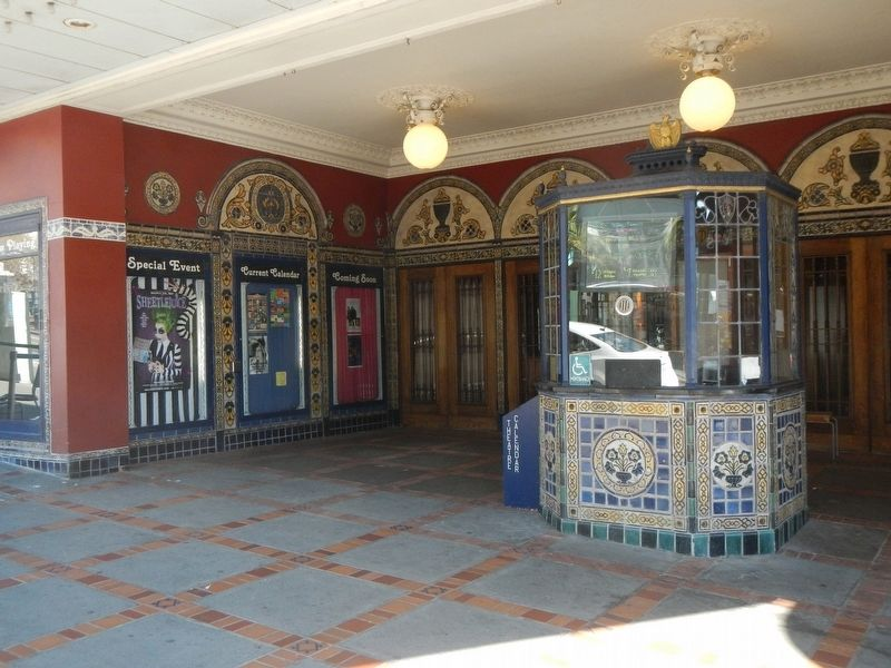 Ticket Booth and Entrance of the Castro Theatre image. Click for full size.