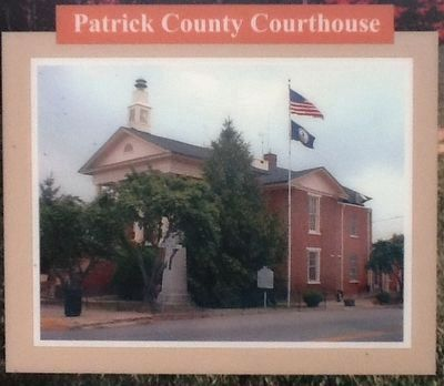 Patrick County Courthouse image. Click for full size.
