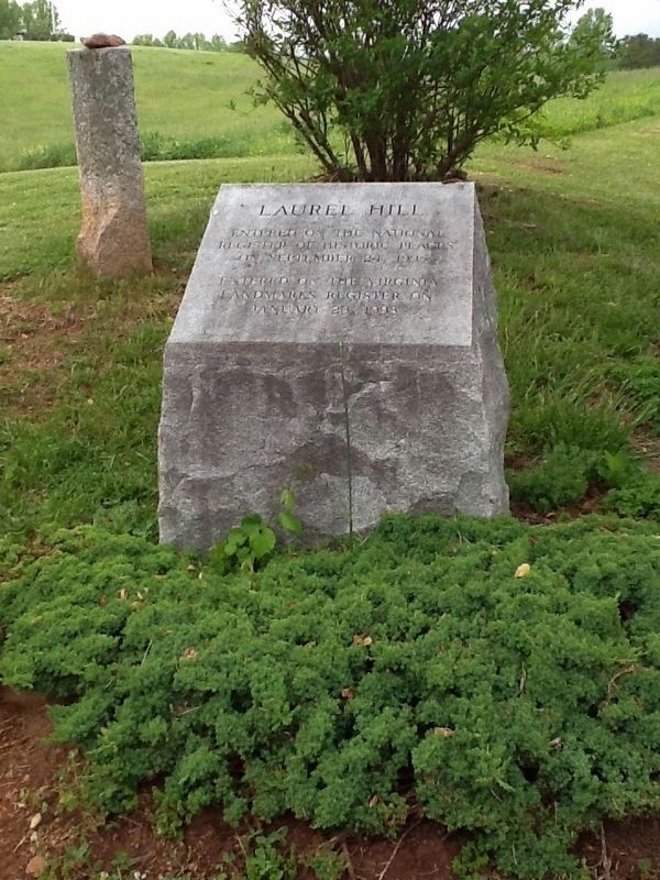 Adjacent Laurel Hill Stone Marker image. Click for full size.