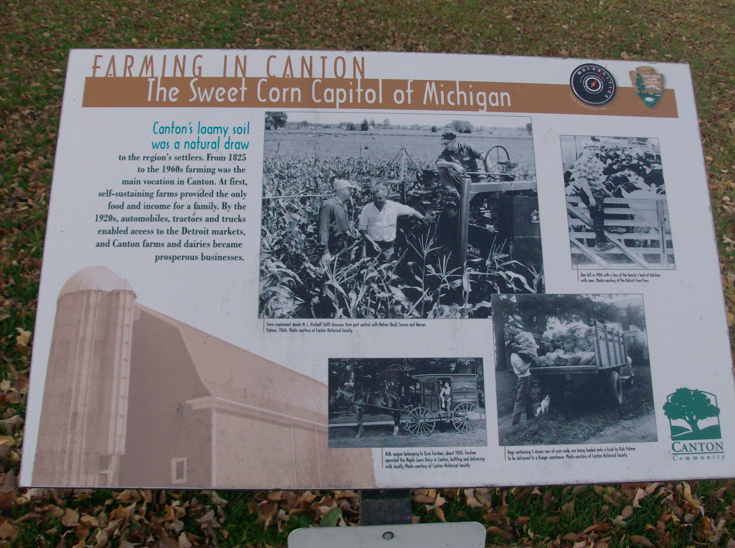 Farming in Canton: The Sweet Corn Capitol of Michigan Marker