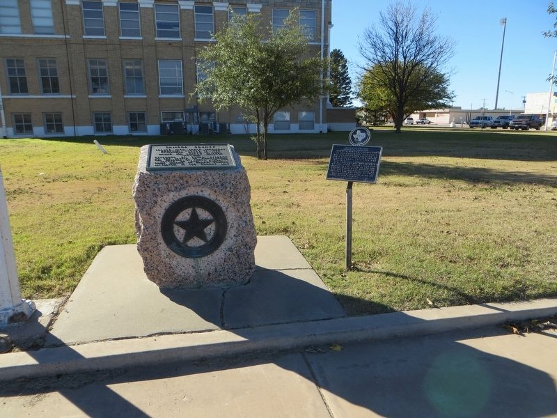 Briscoe County Marker image. Click for full size.