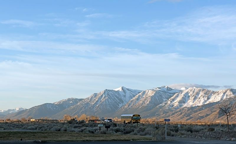 Carson Valley and the Sierra Nevada image. Click for full size.
