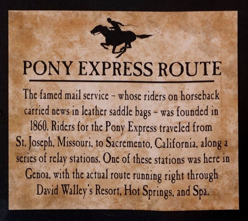 Pony Express Route image. Click for full size.