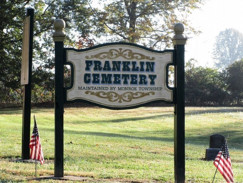 Franklin Chapel Marker image. Click for full size.
