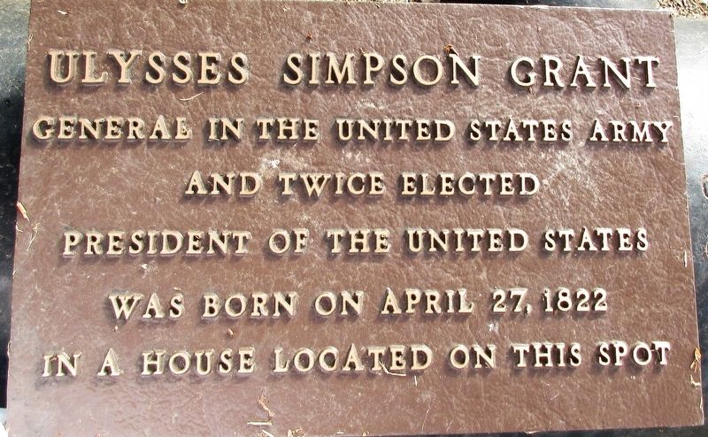 Ulysses Simpson Grant Marker image. Click for full size.