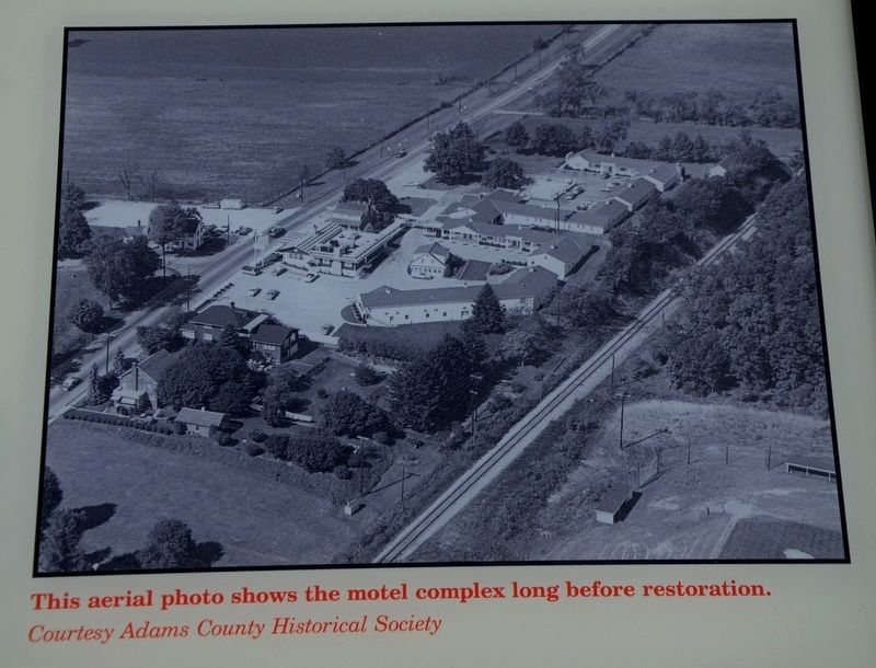 An Aerial Photo of the Motel Complex image. Click for full size.