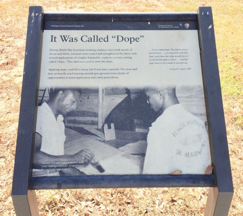 "It Was Called ""Dope"" Marker image. Click for full size."