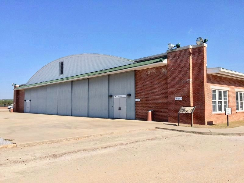 Moton Field Expands - Hangar #2 is rebuilt. image. Click for full size.