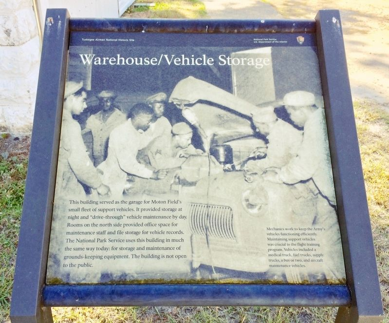 Warehouse/Vehicle Storage Marker image. Click for full size.