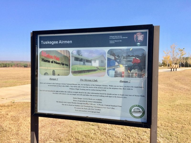 The Tuskegee Airmen National Historic Site. image. Click for full size.