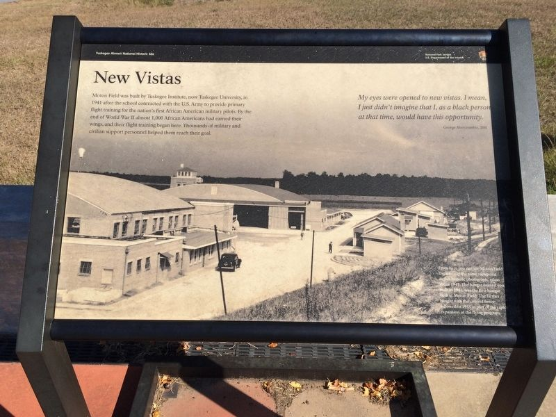 New Vistas Marker image. Click for full size.