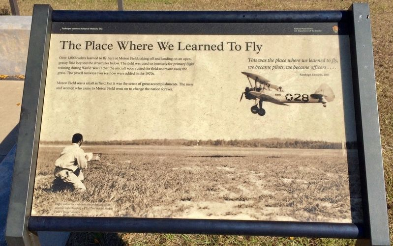 The Place Where We Learned to Fly Marker image. Click for full size.