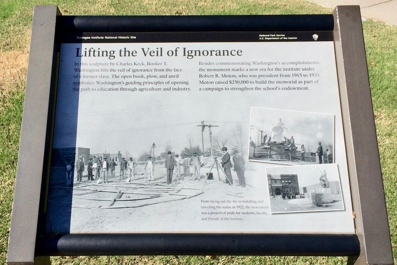 Lifting the Veil of Ignorance Marker image. Click for full size.