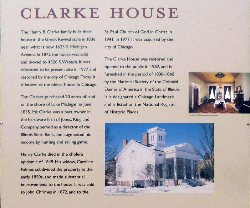 Clarke House image. Click for full size.