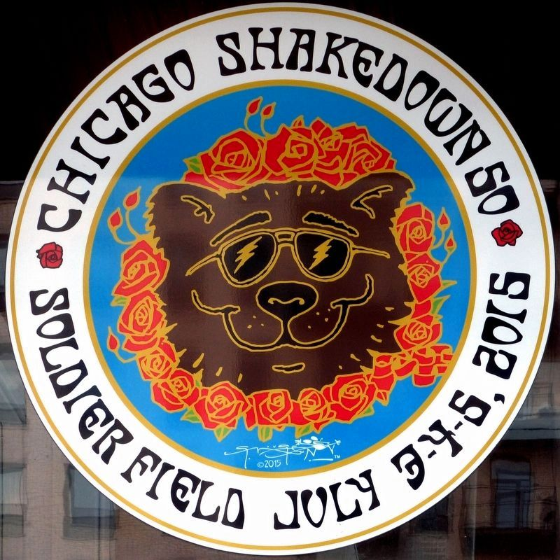 Chicago Shakedown 50<br>Soldier Field July 3-4-5, 2015 image. Click for full size.