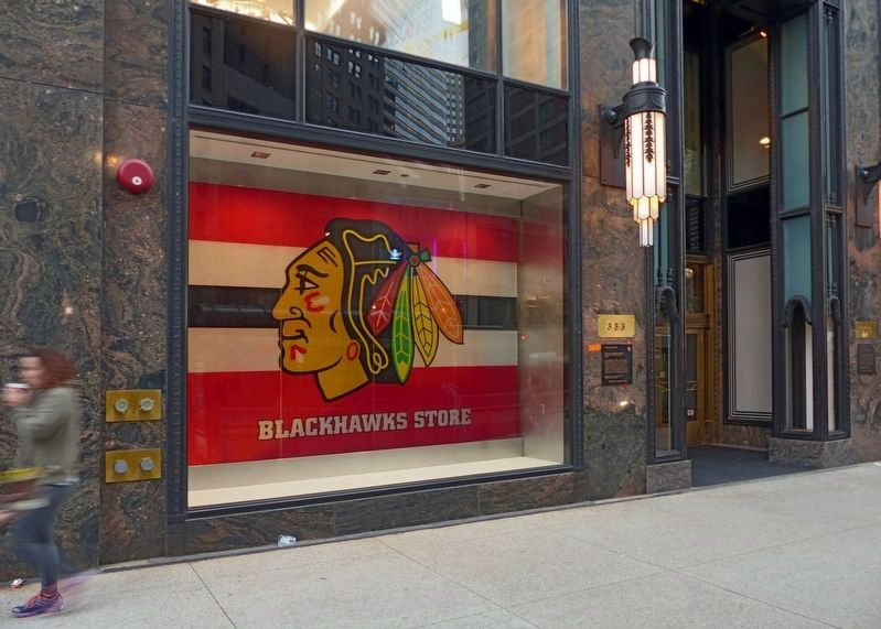 Blackhawks Store<br>333 North Michigan image. Click for full size.