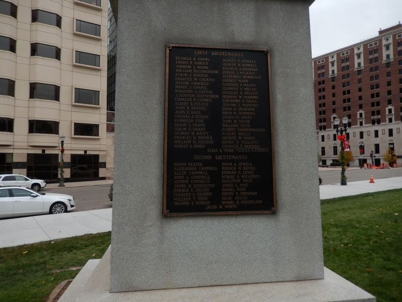 First Regiment Michigan Engineers Marker image. Click for full size.