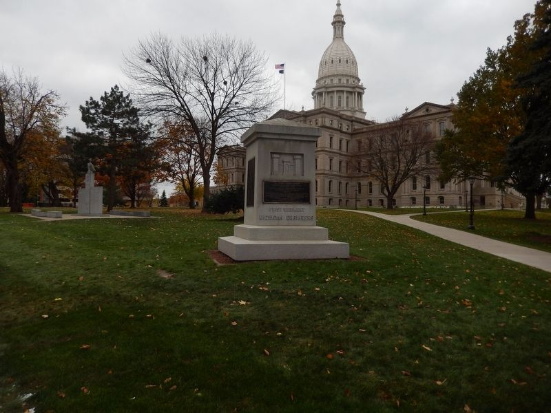 First Regiment Michigan Engineers Memorial image. Click for full size.
